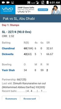 My Cricket : Live Scores and Commentary apk screenshot