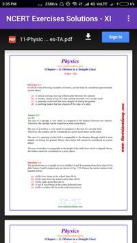 NCERT Physics 11+12  Full Solution & Notes apk screenshot