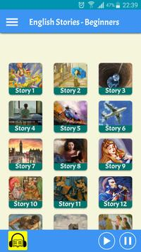 Learn English by Audio Stories - Beginners screenshot 1