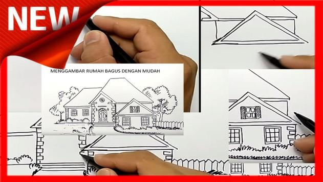 How to Draw a House poster