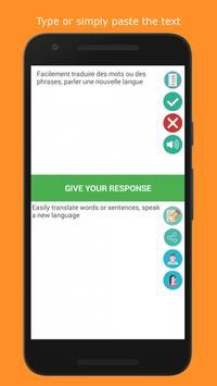 French Intrepreter (Translate and Speak) apk screenshot
