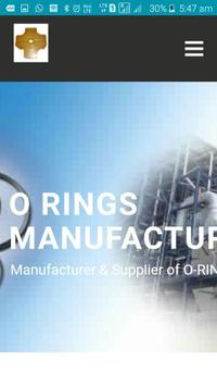 Vertex Rubber India - O-rings Manufacturers poster