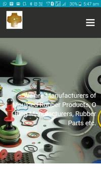 Vertex Rubber India - O-rings Manufacturers screenshot 1