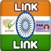 Link Aadhaar with Pan Card icon