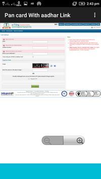 Link Aadhaar with Pan Card screenshot 5