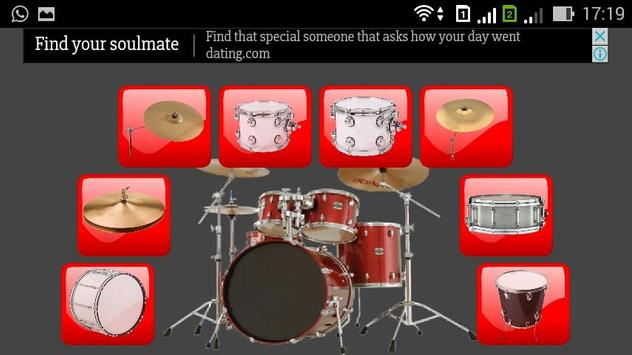 Drum Pad Free apk screenshot