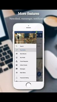 Online light facebook app apk screenshot