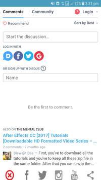 The Mental Club apk screenshot