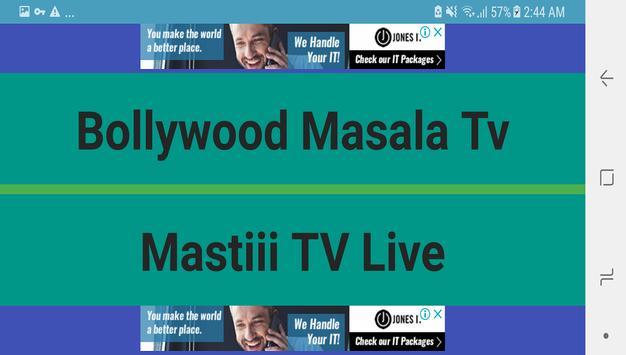 Bollywood Masala Tv Live screenshot 1
