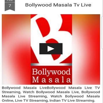Bollywood Masala Tv Live screenshot 2