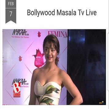 Bollywood Masala Tv Live screenshot 3
