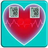 Best Blood Pressure and Temperature Checker icon