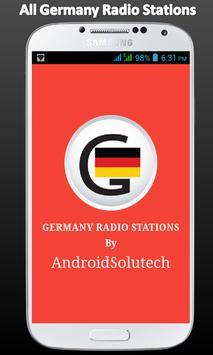 Deutsche Germany Radio FM poster