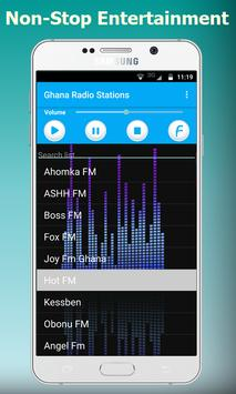 Live Ghana Radios: Music Stations screenshot 1