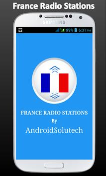 France Radio FM Stations poster