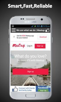 InstaChat - All Social Media apk screenshot