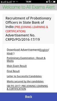 All Govt Exam Result apk screenshot