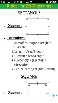 2D & 3D All Mensuration formulae screenshot 2