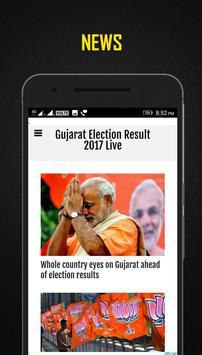 Gujarat Election Result 2017 Live apk screenshot