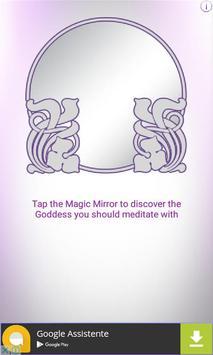 Goddess Magic Mirror poster