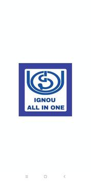IGNOU All IN ONE poster