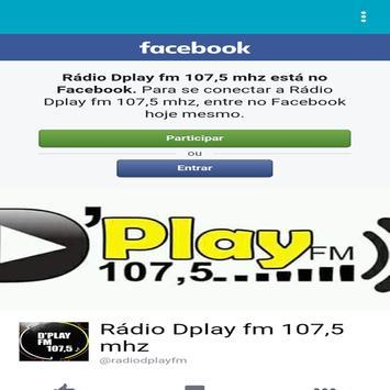 Radio Dplay FM 107,5 screenshot 3