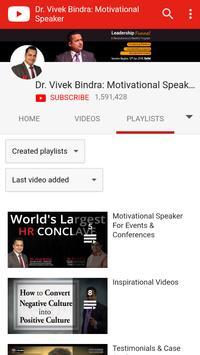 Dr. Vivak Bindra: Motivational Speaker apk screenshot