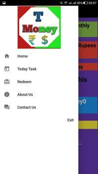 t money ( free paytm earnning app ) poster