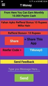 t money ( free paytm earnning app ) screenshot 2