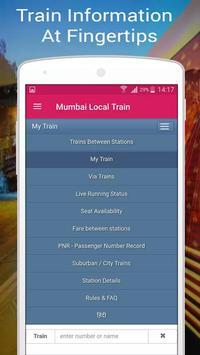 Mumbai Local Train screenshot 1