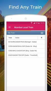 Mumbai Local Train screenshot 2