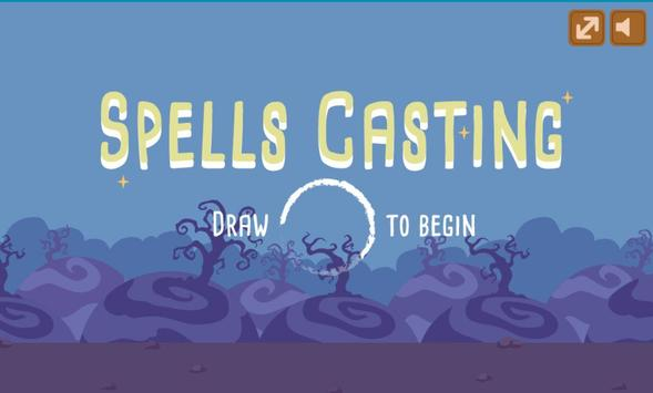 Draw The Spell - Drawing & Reflexes Game poster