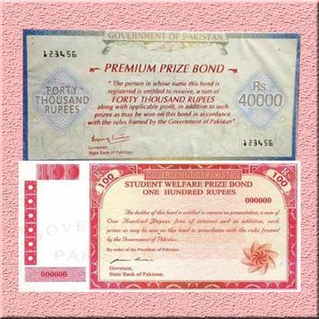 Prize Bond List poster