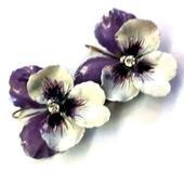 ANNARITA VITALI Earrings Orecchini Pendiente Viole icon