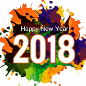 New Year Wishes 2018 icon