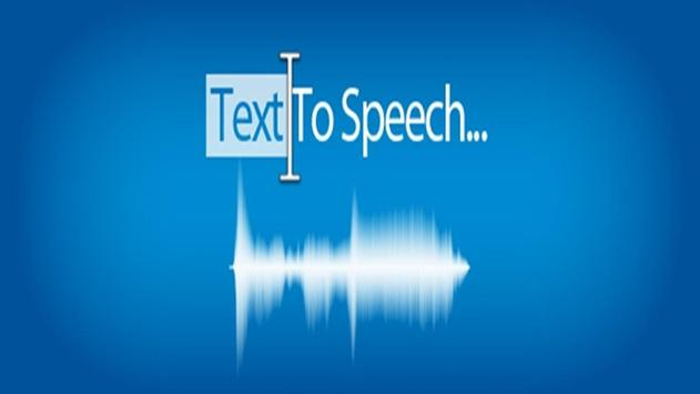 Text2Speach apk screenshot