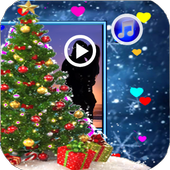 Christmas Tree Video Maker - Live icon