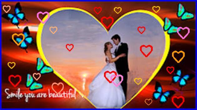 Video Maker Love Frames Photo - Live screenshot 10