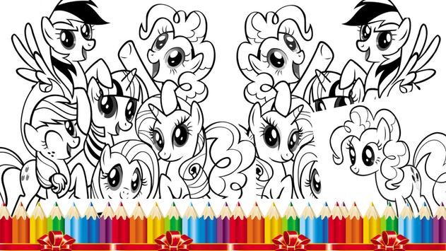 pony para colorear for Android - APK Download