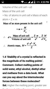 CBSE CLASS 12 CHEMISTRY apk screenshot
