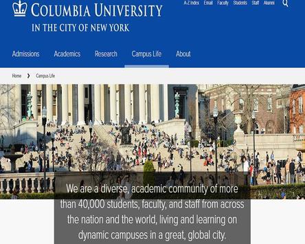 Columbia University apk screenshot