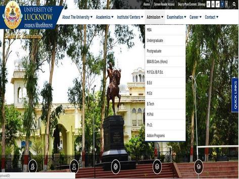 Lucknow University apk screenshot
