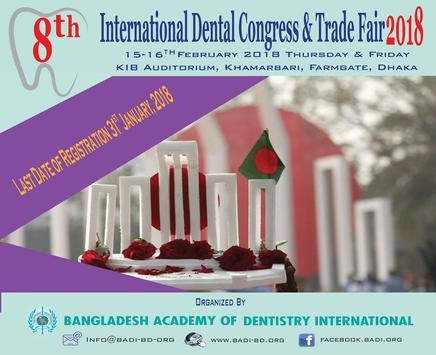 8th International Dental Congress &Trade Fair 2018 apk screenshot