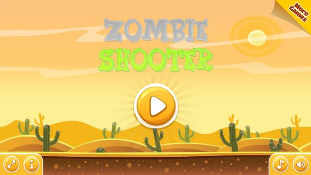 Zombie Shooooter poster