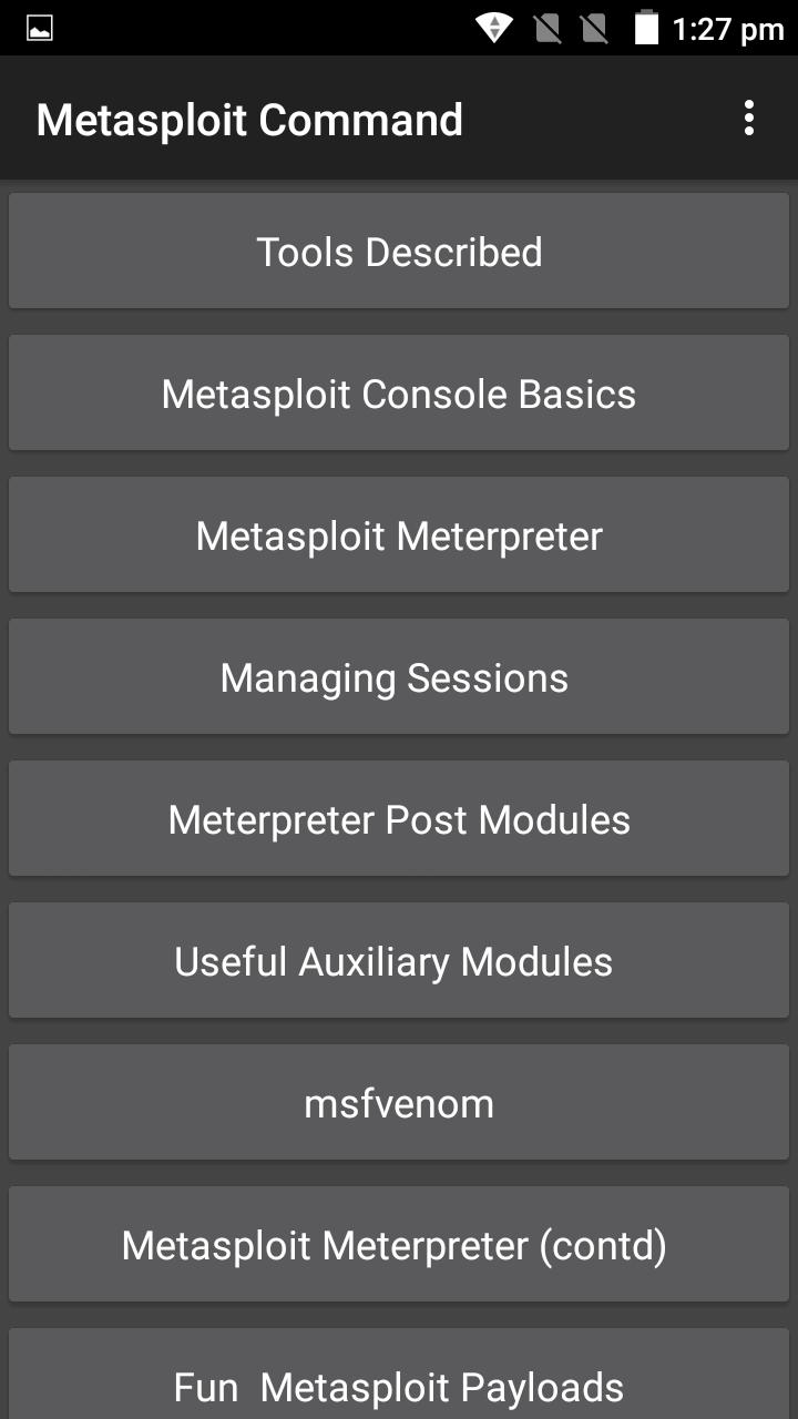 Metasploit Command for Android - APK Download