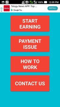 self earning money poster
