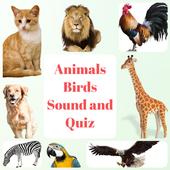 Animal and Bird Sound for Kids icon