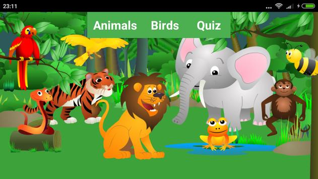 Animal and Bird Sound for Kids poster