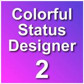 Colorful Status Designer 2 icon