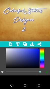 Colorful Status Designer 2 screenshot 1